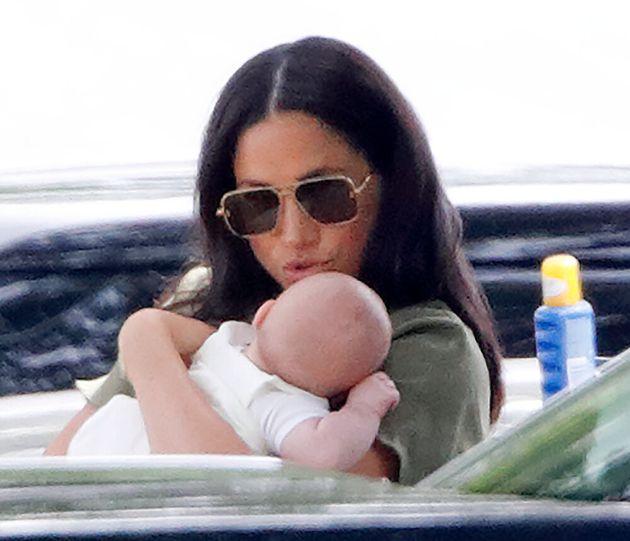 La première sortie publique de Meghan Markle et son bébé