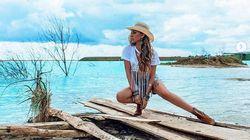 Sur Instagram ce lac fait rêver mais il est complètement