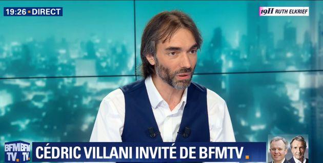 Cédric Villani ne soutient pas (encore) Benjamin Griveaux et réserve sa