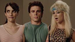 Campy 'AHS: 1984' Teaser Reveals Emma Roberts, Gus Kenworthy