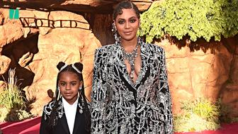 Beyoncé and Blue Ivy Rock 'The Lion King' Red Carpet