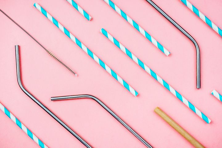Eco-friendly reusable straws come in varieties such as paper, metal and bamboo.