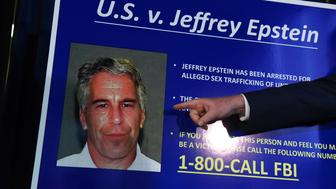 NEW YORK, NY - JULY 08: US Attorney for the Southern District of New York Geoffrey Berman announces charges against Jeffery Epstein on July 8, 2019 in New York City. Epstein will be charged with one count of sex trafficking of minors and one count of conspiracy to engage in sex trafficking of minors. (Photo by Stephanie Keith/Getty Images)