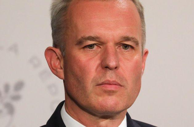 François de Rugy à l'issue du conseil des ministres le 10 juillet à