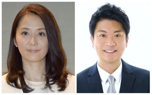 (左)増原ひろこ氏、(右)石川大我氏