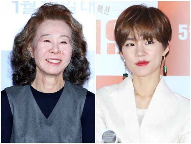 배우 윤여정,