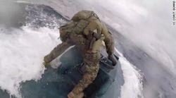 Il sottomarino trasporta 7 tonnellate di cocaina, l'inseguimento sembra la scena di un