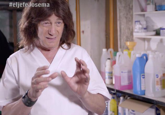 Críticas y mofas por cómo disfrazaron a Josema Yuste en 'El Jefe Infiltrado' (La