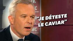 Les arguments insolites de François de Rugy sur