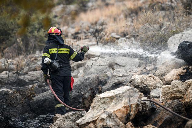 Πυρκαγιές σε Εύβοια και