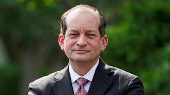 President Donald Trump told reporters Friday morning that Labor Secretary Alex Acosta would be resigning. Acosta's departure comes amid controversy over the way he handled a sex crimes case against Jeffrey Epstein a decade ago when Acosta was U.S. attorney for southern Florida.