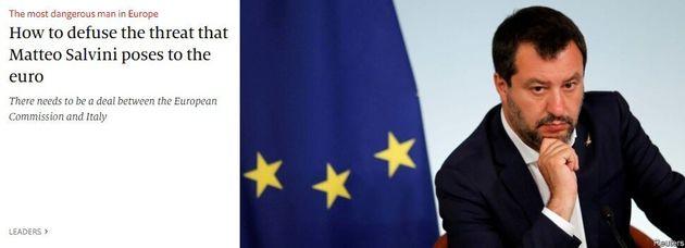 Per l'Economist Salvini è