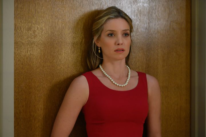"Annabelle Wallis in ""The Loudest Voice."""