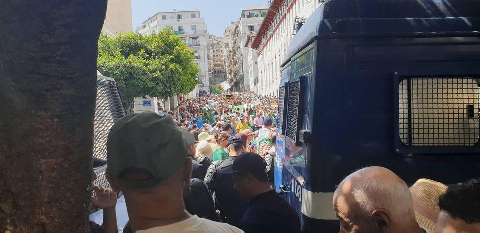 Le 21e vendredi de manifestation à Alger en