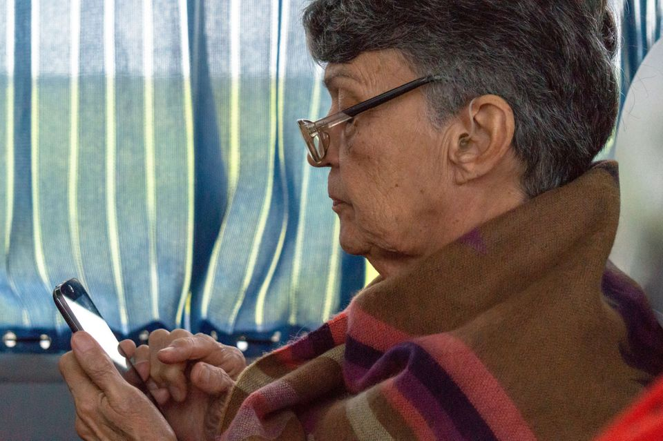 Can Smartphones Help India's Elderly Combat Mental Health