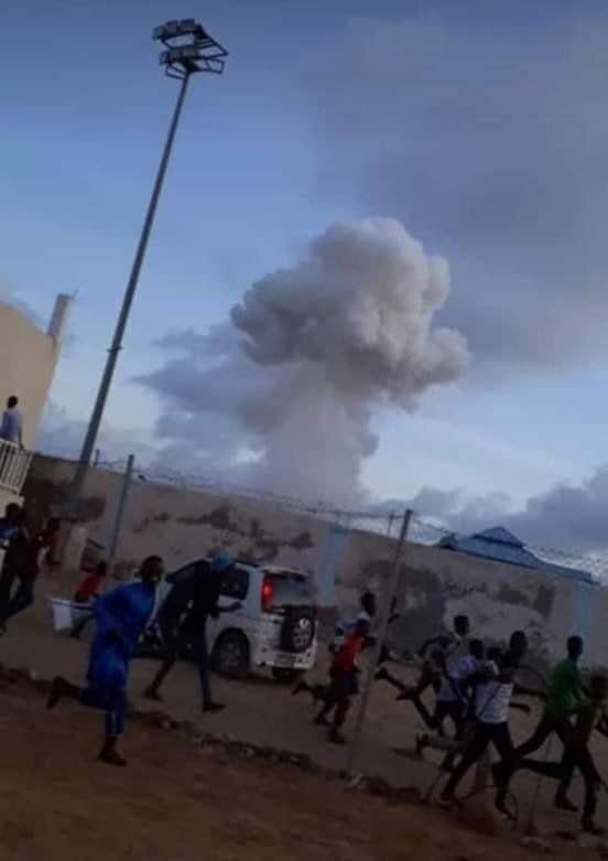 Σομαλία: Ισχυρή έκρηξη έξω από