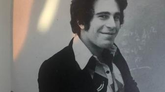 Jeffrey Epstein, pictured in a yearbook from the 1970s at The Dalton School.
