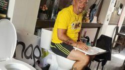 Βέλγιο: Καθόταν σε λεκάνη τουαλέτας επί 5 ημέρες για να σπάσει ένα ανύπαρκτο