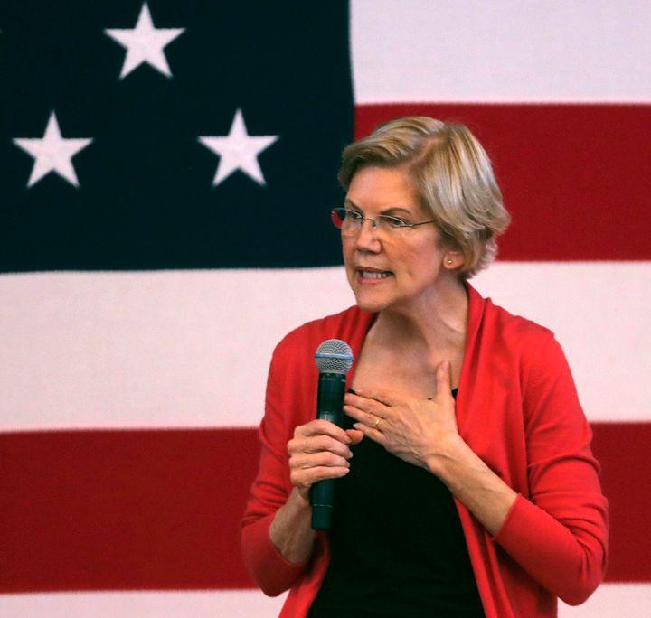 Sen. Elizabeth Warren (D-Mass.), whom some progressive activists see as a more capable spokesperson than Sanders on racial ju