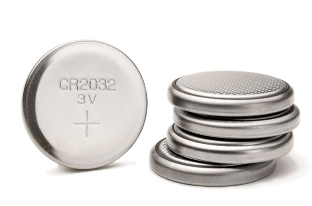 Button batteries look like small metal