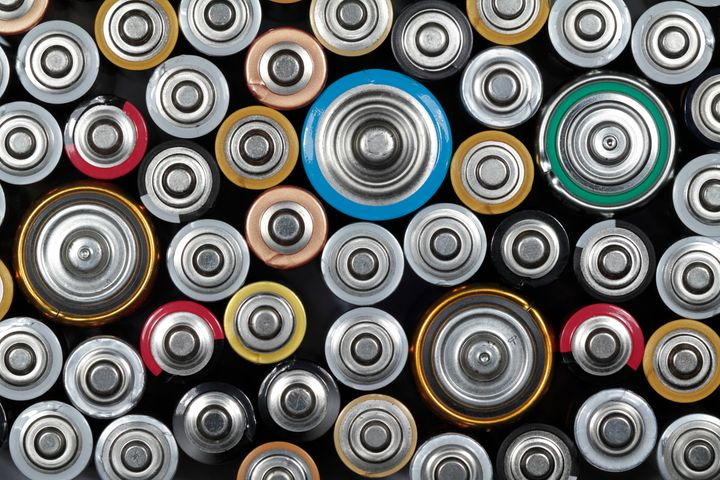Although single-use batteries can go in the trash, it's better to recycle them.