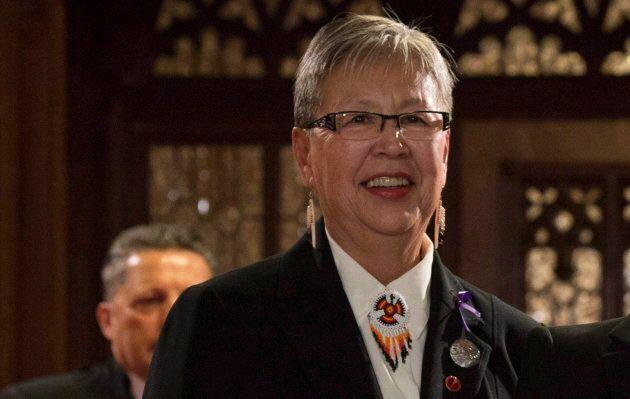 Sen. Lillian Eva Dyck is pictured here on Nov. 15, 2016 in the Senate in