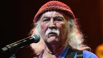 LOS ANGELES, CALIFORNIA - JULY 03: Rock and Roll Hall of Fame member David Crosby, founding member of The Byrds and Crosby, Stills and Nash, performs onstage during the California Saga 2 Benefit at Ace Hotel on July 03, 2019 in Los Angeles, California. (Photo by Scott Dudelson/Getty Images)