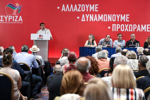 Τσίπρας στην ΚΕ του ΣΥΡΙΖΑ: Nα φτιάξουμε το κόμμα μας ξανά από την