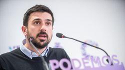 Ramón Espinar se une a Teresa Rodríguez en sus críticas a la consulta de
