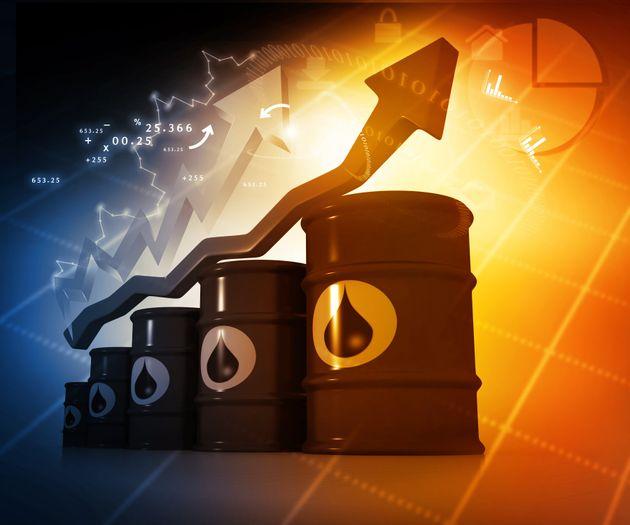Le prix du pétrole en hausse de plus de 66