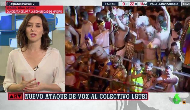 Isabel Díaz Ayuso en 'Al Rojo