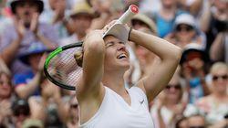 Simona Halep Beats Serena Williams In Wimbledon