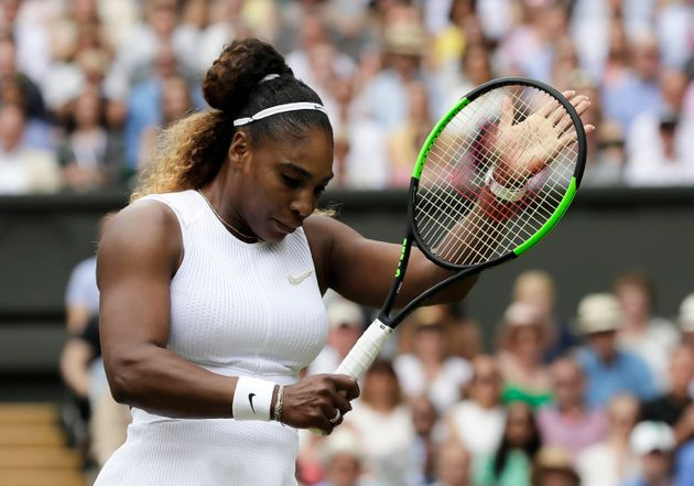 Serena Williams vaincue lors de la finale de Wimbledon le 13 juillet