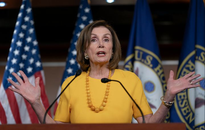 Westlake Legal Group 5d29ef3e2600004a00044578 Nancy Pelosi Emerges As Unexpected Villain At Netroots Nation