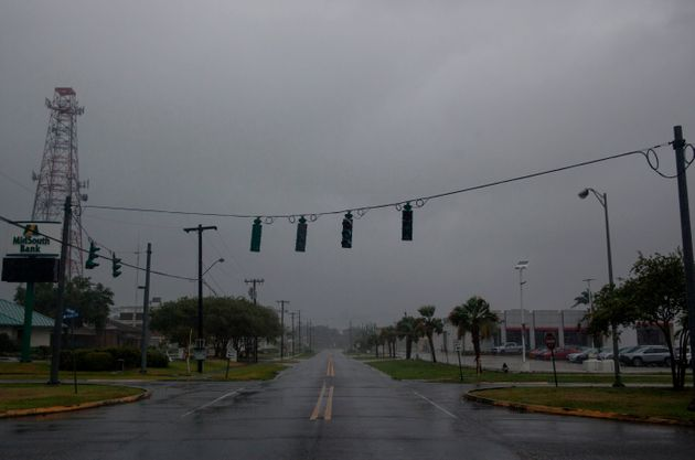 La tempête Barry devient un ouragan de catégorie 1 (photo prise à Morgan