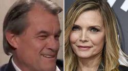 Artur Mas sorprende a todos con esta frase sobre Michelle Pfeiffer en