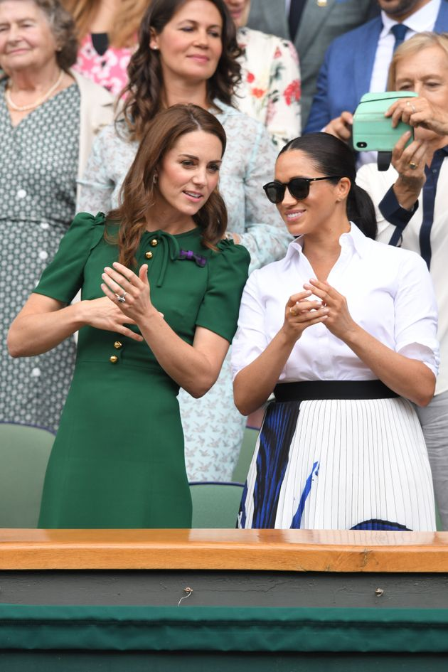 Meghan Markle And Kate Middleton Again Attend Wimbledon