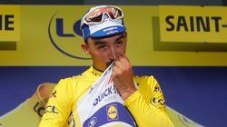 Julian Alaphilippe reprend le maillot jaune sur le Tour de