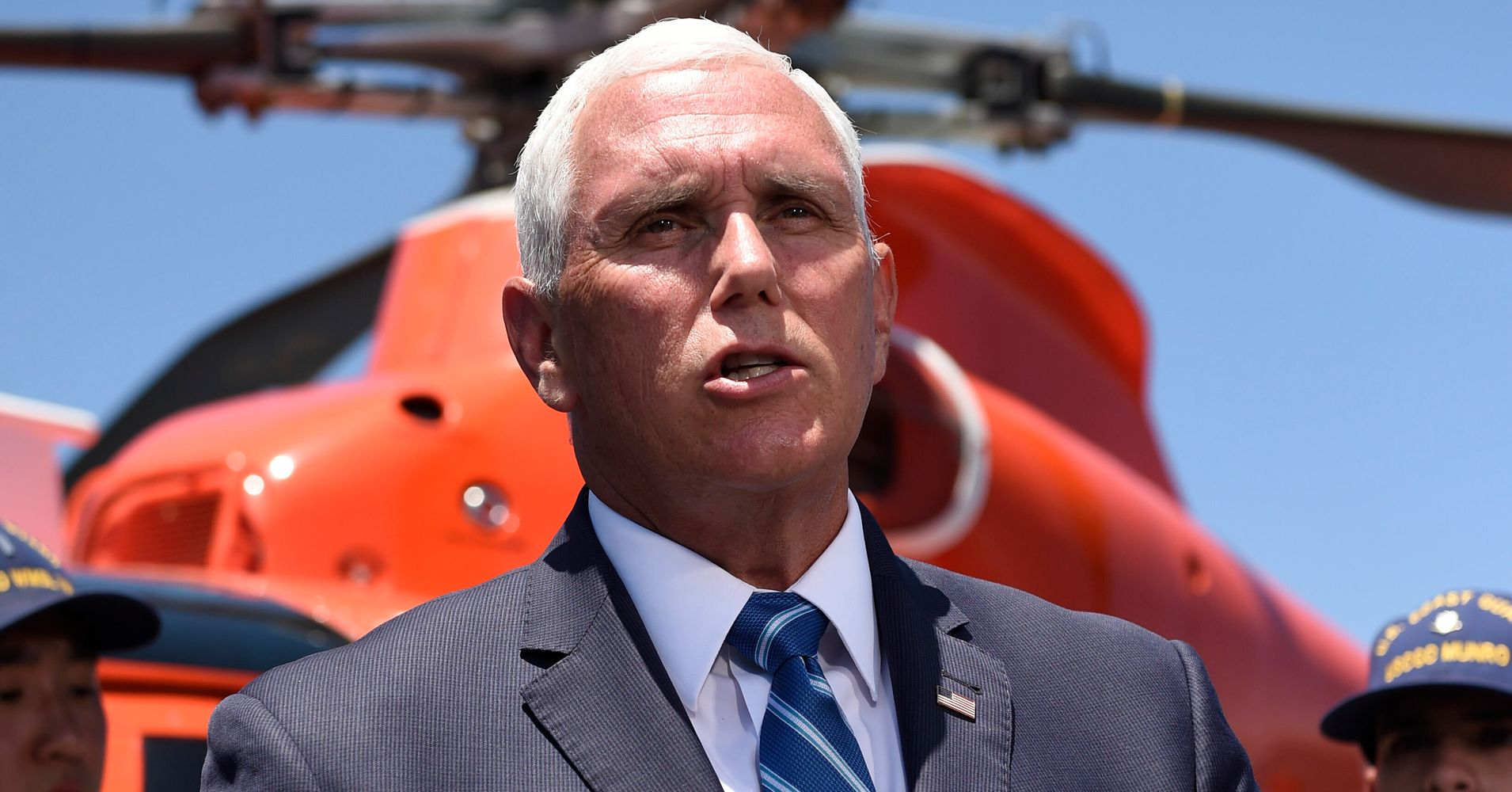 Westlake Legal Group 5d2a19aa260000490004459c Mike Pence 'Can't Account For' Photo Of Dismal Migrant Detention Conditions