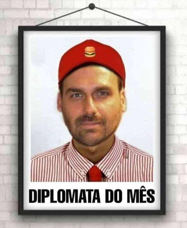 Eduardo Bolsonaro embaixador dos EUA: A internet também quer uma boquinha