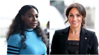 Serena Williams, Meghan Markle (Getty Images).