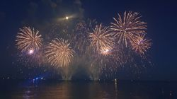 60.000 personnes ont assisté au feu d'artifice de Nice pour le 14 juillet, le premier depuis