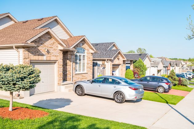 A neighbourhood of detached homes in London, Ont. The city has seen the fastest house price growth among...
