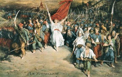 Γαλλική Επανάσταση. Η ιστορία και ο εθνικός ύμνος της