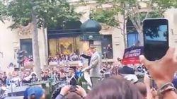 14 juillet: Macron hué lors de son arrivée sur les