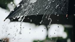 Βροχές και καταιγίδες ως την