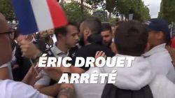 Eric Drouet et Maxime Nicolle placés en garde à vue après leur interpellation près des