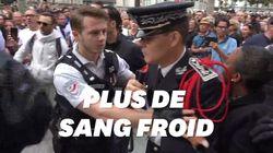 14 juillet: un commissaire de police perd son sang froid face à des gilets