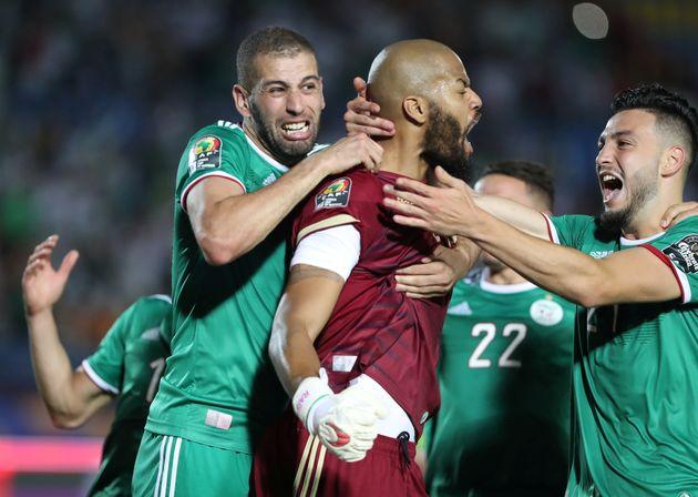 L'Algérie défie le Nigéria pour une place en