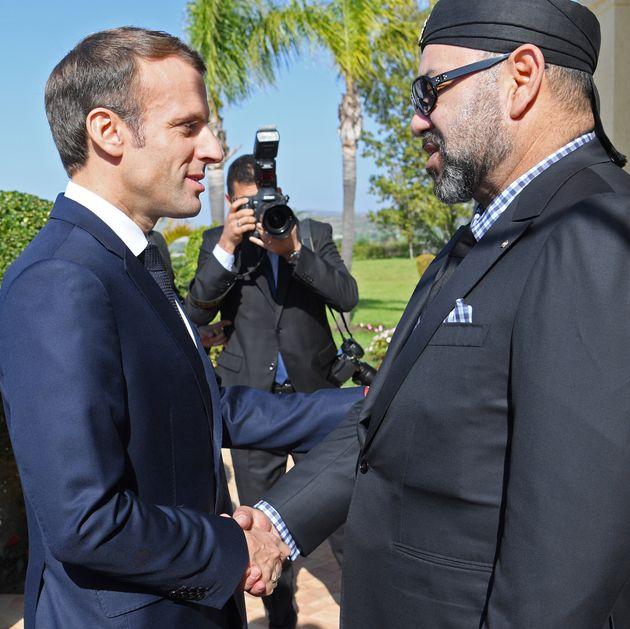 Le roi Mohammed VI félicite Emmanuel Macron à l'occasion du 14